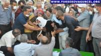 Yüksekova'da Kazada Hayatlarını Kaybedenler Gözyaşları Arasında Toprağa Verildi
