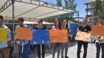 Yüksekovalı Öğrenciler Süleyman Hoca için Yürüdü