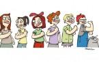 8 Mart için kadın sanatçılar işbaşında