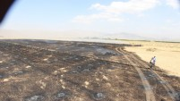 Yüksekova'da 10 Bin Ot Bağı Yandı