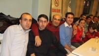 Yüksekova'daki Öğretmenler Gece de stres attılar