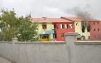 Yüksekova'da bir okul ateşe verildi