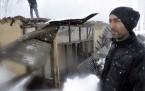 Yüksekova'da yangın