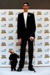 Dünyanın en kısa ve uzun adamı