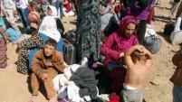 Türkiye'ye giren Suriyelilerin sayısı