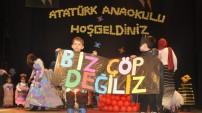 Yüksekova'da minik öğrencilerden 'çevre duyarlılığı' etkinliği