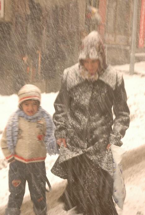 Hakkari ve İlçelerinde Kar Yağışı