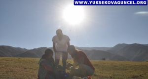 İtalyalı Alberto Zoni Yüksekova'ya Hayran Kaldı