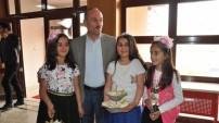 Yüksekova'nın Kamışlı ilk ve ortaokulun kültür sanat etkinliği