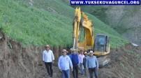 Yüksekova: Köy Sakinleri 5 Kilometrelik Su Kanalını Kendi İmkânları İle Açıyor