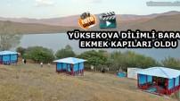 Yüksekova Dilimli Barajı Ekmek Kapıları Oldu
