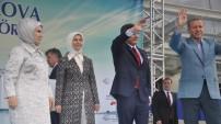 Erdoğan Yüksekova Havalimanı Açılışını Yaptı