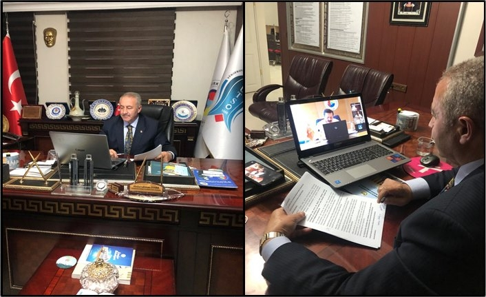 Başkan Pınar, TOBB Başkanı Hisarcıklıoğlu'nun Başkanlığındaki İstişare Toplantısına Katıldı