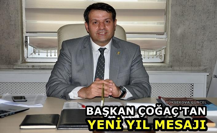 Başkan Çoğaç'tan Yeni Yıl Mesajı