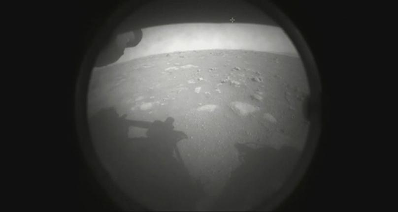 NASA'nın uzay aracı Mars yüzeyine başarılı şekilde iniş yaptı