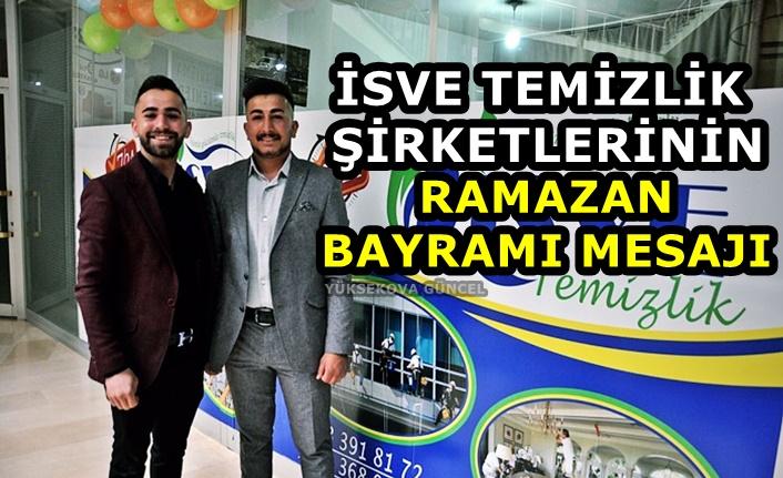 İSVE Temizlik Şirketlerinden Ramazan Bayramı Mesajı