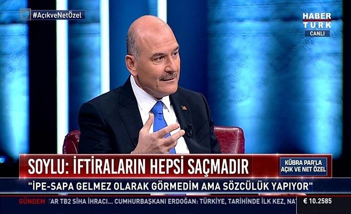 Soylu: Türkiye bir operasyona tabi tutuluyor, hedef Türkiye