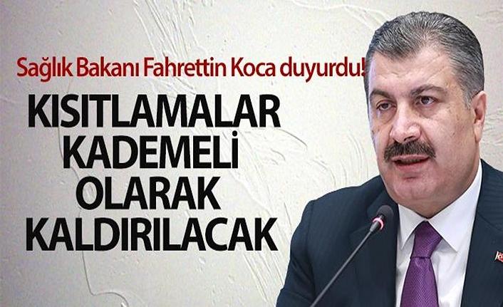 Türkiye tam kapanmanın ardından normalleşiyor! Bakan Koca'dan ilk açıklama