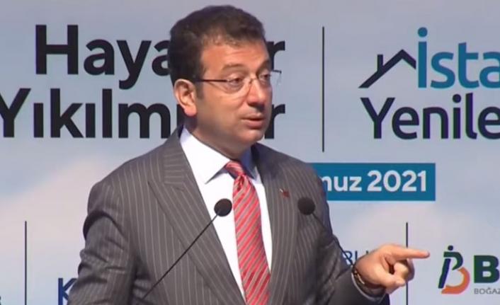 İmamoğlu: İstanbul'da binlerce çürük bina var, hızlı hareket etmeliyiz