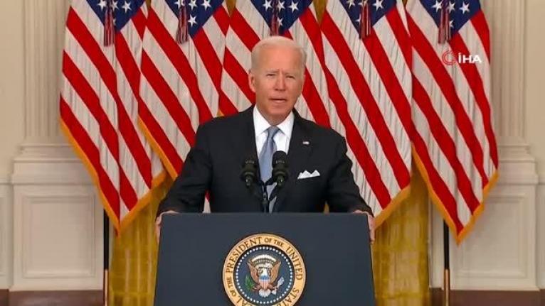 Biden: Afganistan'dan ayrılma kararımız doğru