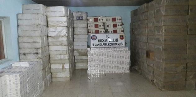 473 bin 980 paket kaçak sigara ele geçirildi!