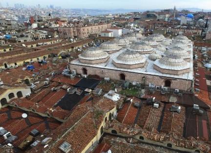 554 yıllık tarihi çarşıda restorasyon başlıyor