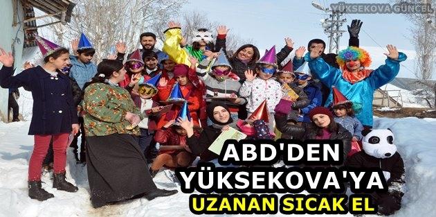 ABD'den, Yüksekova'ya Uzanan Sıcak El
