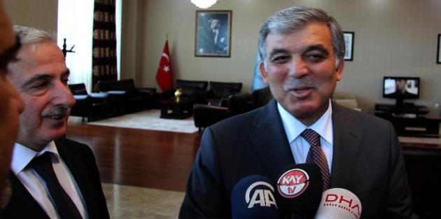 Abdullah Gül: Çevremizdeki olaylara üzülüyoruz