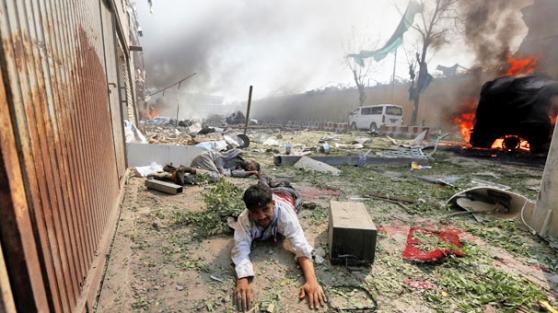 Afganistan'ın başkenti Kabil kana bulandı!