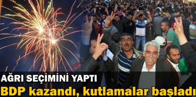 Ağrı'da seçimi BDP kazandı