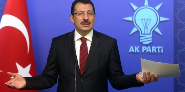 AK Parti: Raydan çıkan bir şey vardı, YSK raya aldı