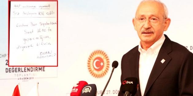 AKP ve CHP Anlaşmış!