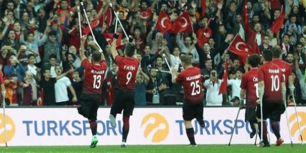 Ampute Futbol Milli Takımı Avrupa Şampiyonu oldu!
