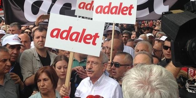 Ankara'dan 'adalet yürüyüşü' başlatıldı