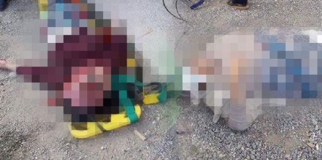 Balkon korkulukları koptu!..2 kadın öldü