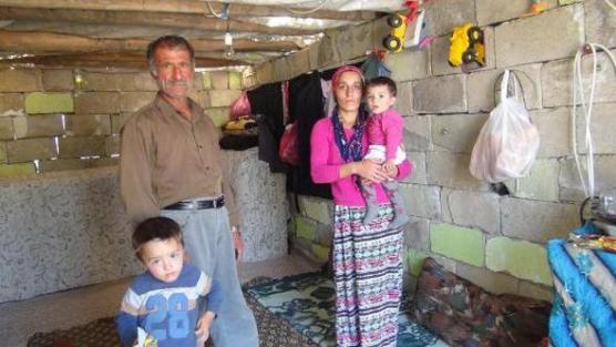 Barakada yaşam mücadelesi