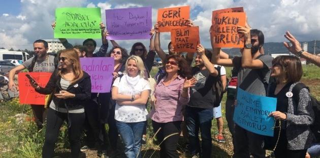 Barış imzacıları Adalet Yürüyüşü'nde