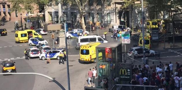 Barselona'da 13 kişi öldü, 100'den fazla yaralı
