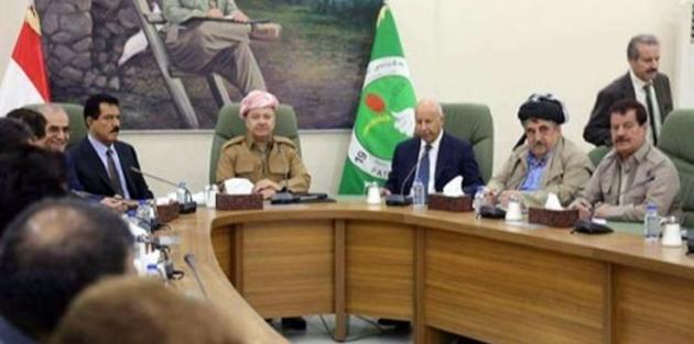 Barzani Kerkük'te: Referandum bir araç