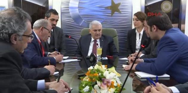 Başbakan , Kılıçdaroğlu'nun mektubunu açıkladı