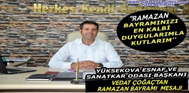Başkan Çoğaç'tan Ramazan Bayramı Mesajı