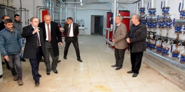 Başkan Epcim 25 milyonluk spor kompleksini denetledi
