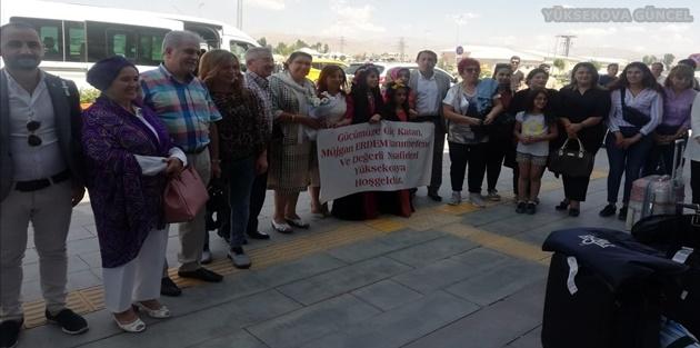 Başkan Erdem'den Yüksekova'ya Ziyaret