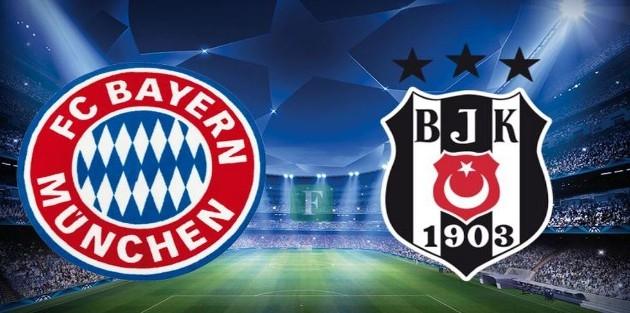 Bayern Münih-Beşiktaş maçı hangi kanalda, saat kaçta?