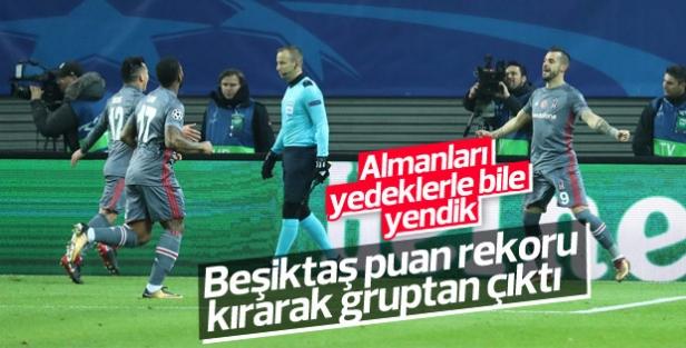 Beşiktaş Almanya'da Leipzig'i yendi