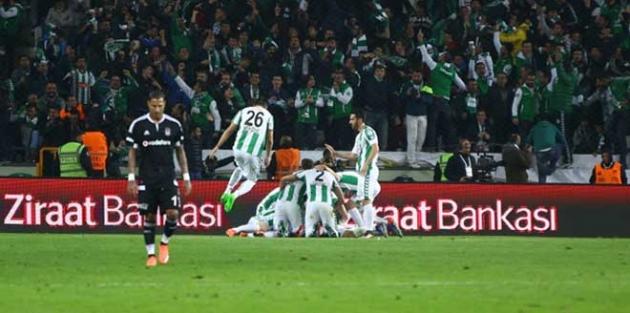 Beşiktaş kupaya veda etti