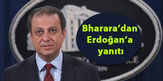 Bharara'dan Erdoğan'a yanıtı