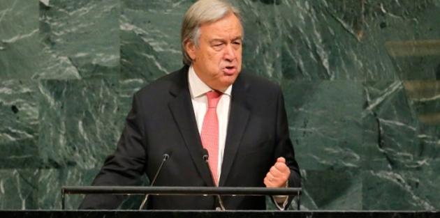 BM Genel Sekreteri'nden Trump'a savaş uyarısı