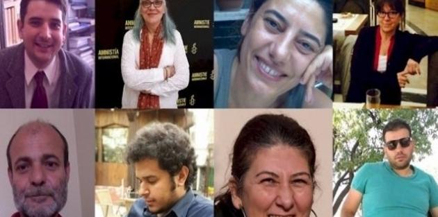 Büyükada'da gözaltına alınan hak savunucularına 15 yıl hapis talebi