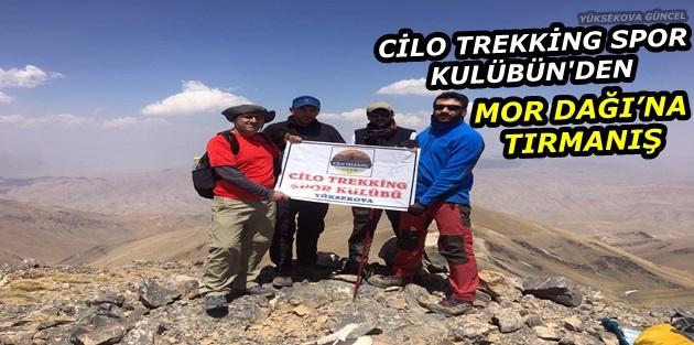 Cilo Trekking Spor Kulübün'den Mor Dağı'na Tırmanış